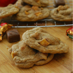 Caramel Apple Spice Milky Way Cookies