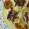 No-Bake Samoas Cheesecakes