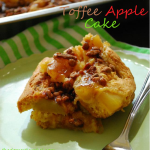 Toffee Apple Cake & The (Ultra Busy) Friday Roundup!