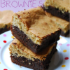 Blondie-Covered Brownies