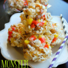 Monster Munch Popcorn Balls