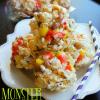 Monster Munch Popcorn Balls