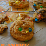 Pumpkin Pudding Monster Cookies