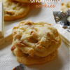 Triple White Chocolate Cookies