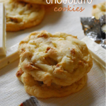 Triple White Chocolate Cookies