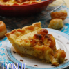 Donut Bread Pudding Pie