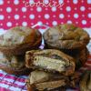 Deep Dish Gingerbread Oreo-Stuffed Cookies