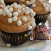 Hot Cocoa 3 Muskateers Cupcakes