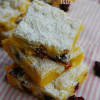 Lemon White Chocolate Cranberry Bars, Food & Wine Giveaway, and a #TopChef Review!