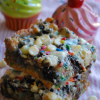 Birthday Cake Seven Layer Bars