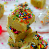 No-Bake Cake Batter Squares