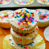 No-Bake Birthday Cake Ice Cream Cups