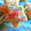 Star Sparkler Cookie Pops