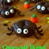 Chocolate Donut Spiders (and Bonus Monster Eyeballs!!)