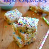 Softest Sugar Cookie Bars {Made with Zulka Pure Cane Sugar!}