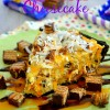 Caramel Coconut Crunch Cheesecake #Cookies2Crunch with NESTLÉ® CRUNCH® Girl Scouts® Cookie Bars!