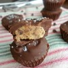 Browned Butter Peanut Butter Cookie Dough Cups {A Guest Post from The Cooking Actress!}