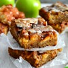 Apple Fritter Blondies {Apple Fritter Week!!}