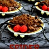 Spider Pudding Pies & Witches Cauldrons with Snack Pack Pudding!