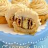 Cinnamon Roll Cookie Bites