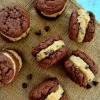 Homemade Chocolate Chip Cookie Dough Oreos