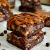 Dulce de Leche Chocolate Gooey Bars