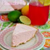 No-Bake Pink Lemonade Cheesecake Pie