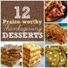12 Praise-worthy Thanksgiving Desserts