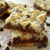 Salted Nutella Caramel Butter Bars