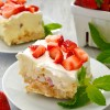 Strawberry Cheesecake Lush Dessert