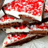 Brownie Brittle Peppermint Bark