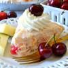 No-Bake Ambrosia Cheesecake Pie