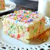 Easy Homemade Funfetti Cake From Scratch