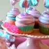 The Best Cotton Candy Cupcakes