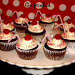 Chocolate Cherry Cola Cupcakes