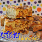 Butterfinger Blondies AND A VIDEO!