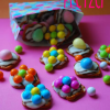 Easter Pretzel Daisy Bites