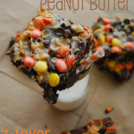 Chocolate Peanut Butter 7-Layer Bars