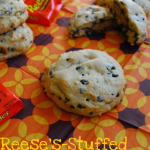 Reese's Stuffed Chocolate Chip Pudding Cookies