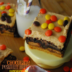 Chocolate Peanut Butter Brownie Cake