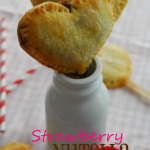Strawberry Nutella Heart Pie Pops