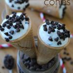Skinny Cannoli Cones