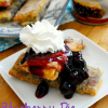 Blueberry Pie Egg Rolls