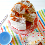 Funnel Cake Cake