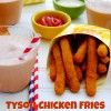 Tyson Chicken Fries & Homemade Copycat Frosties #ChickenFryTime