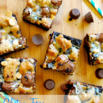 Gluten Free Peanut Butter Cookie Dough Magic Bars