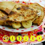 Banana Fluffernutter Quesadilla & Healthy Snacking for Back to School!