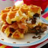 Bacon S'mores Waffle Breakfast Sandwich {and a Hamilton Beach Breakfast Sandwich Maker Giveaway!!}