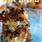 Heavenly Hash Donut Blondies
