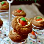 Pumpkin Peanut Butter Cookie Cups